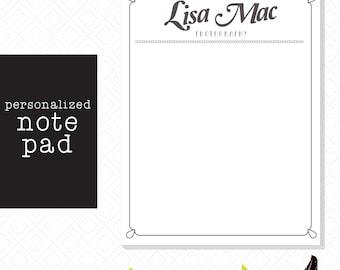 Customizable Notepad
