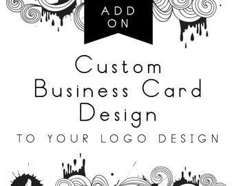 Custom Business Cards, Add-on with logo design