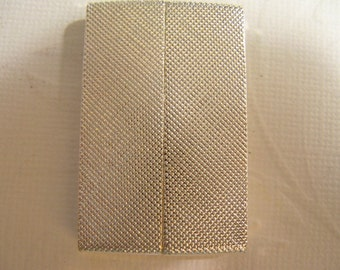 Magnetic Glue in Bar Clasp - Silver Textured clasp 40x25x6mm (35.5x3.6mm id )