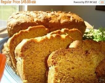 SALE Aunt Helen's Pumpkin Bread - FOUR (4) LOAVES