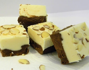 Julie's Fudge - Dark Chocolate AMARETTO Cheesecake - One Pound