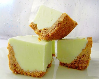 Julie's Fudge - KEY LIME PIE w/Graham Cracker Crust - Over Half Pound