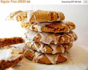 SALE CUSTOM Listing for Kenneth Only - 3 Dozen Ultimate Iced Molasses Cookies - The Big Ones
