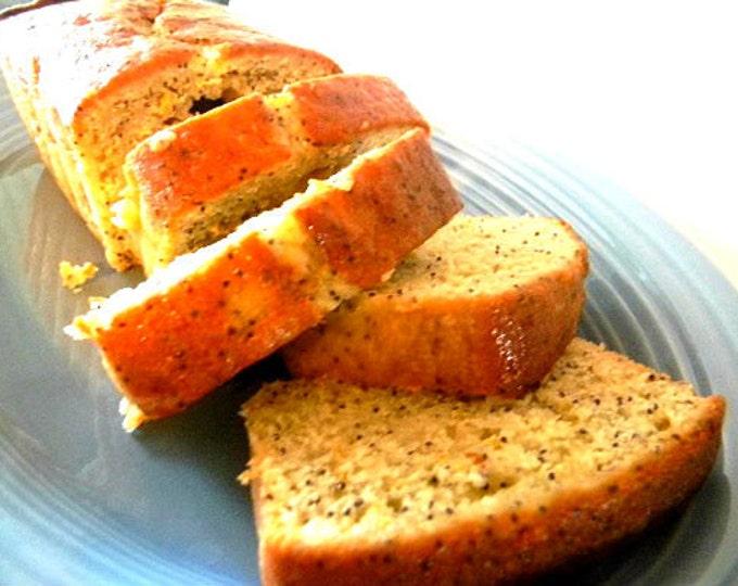 Julie's Lemon Poppyseed Bread - FOUR (4) Loaves