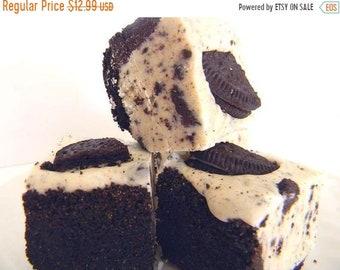 SALE Julie's Fudge - COOKIES & CREAM Pie w/Oreo Crust - Ode to the Oreo - Over Half Pound