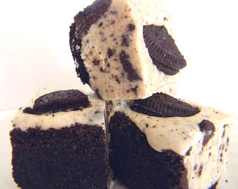 Julie's Fudge - COOKIES & CREAM Pie w/Oreo Crust - Ode to the Oreo - Over Half Pound