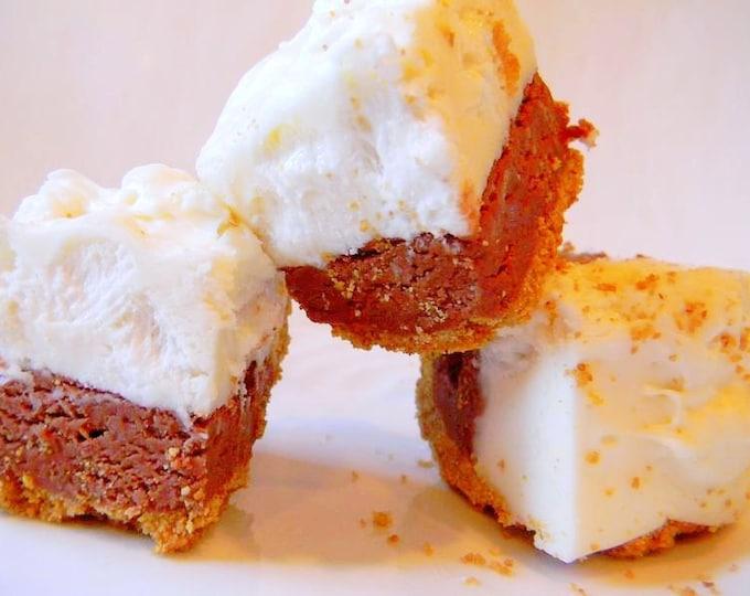 Julie's Fudge - S'MORES PIE w/Graham Cracker Crust - Over Half Pound