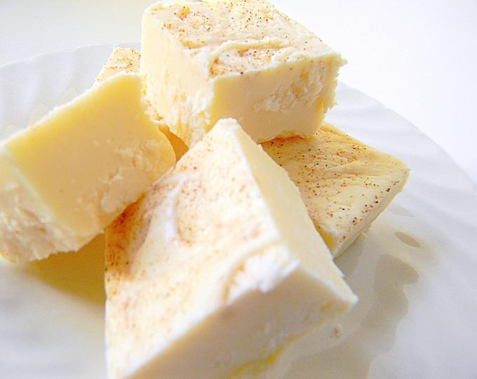 Julie's Fudge - Holiday EGGNOG - Half Pound
