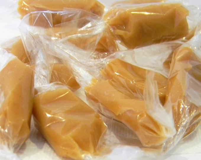 Julie's Soft Caramels - Vanilla, Mudslide, Popcorn, or Butter Rum Caramel - THREE Half Pound Gift Boxes
