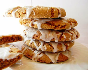 The Ultimate Iced Molasses Cookies - The Big Ones - HALF DOZEN (6 cookies)