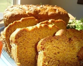 Aunt Helen's Pumpkin Bread - TWO (2) LOAVES
