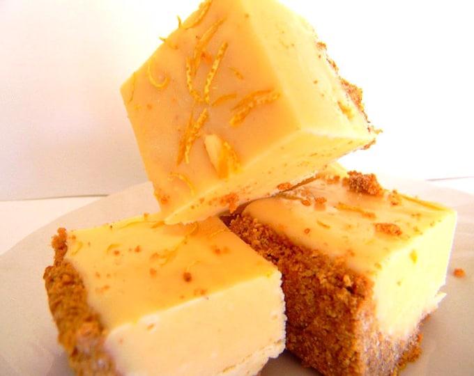 Julie's Fudge - LEMON CHEESECAKE With Graham Cracker Crust - Over One Pound