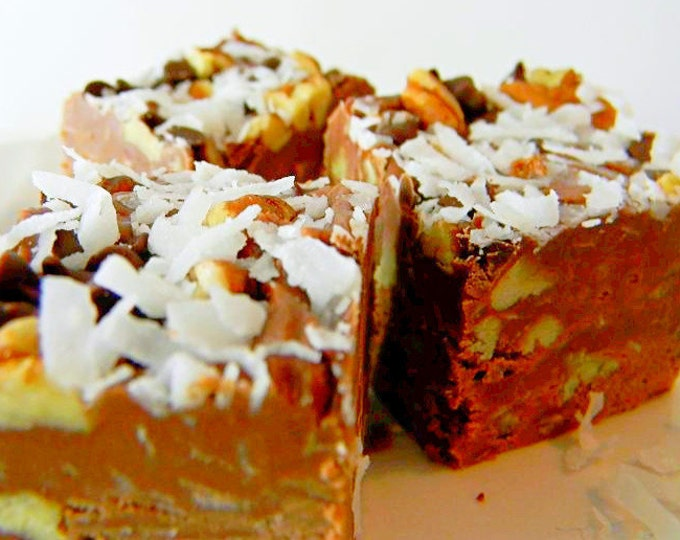 Julie's Fudge - GERMAN CHOCOLATE CAKE - Over One Pound