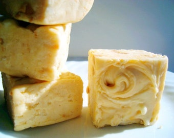 Julie's Fudge - White Chocolate BUTTERSCOTCH Swirl - Half Pound