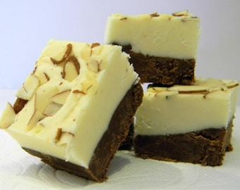 Julie's Fudge - Dark Chocolate AMARETTO Cheesecake - Half Pound