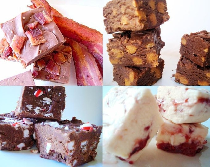 Julie's Fudge - It's A Dream SAMPLER Pack - FOUR Flavors - One Pound
