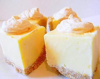 Julie's Fudge - LEMON MERINGUE PIE with Nilla Wafer Crust - Over Half Pound