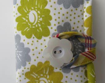 Tea Wallet , Tea Bag Holder, Cute Accessory, Purse Accessory, Flowers