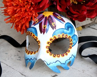 James Bond Spectre Womens Mask - Estrella - Day of the Dead Calavera Mask - Mexico City