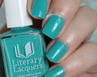 Cyantifically Proven - Bright Teal Creme Polish