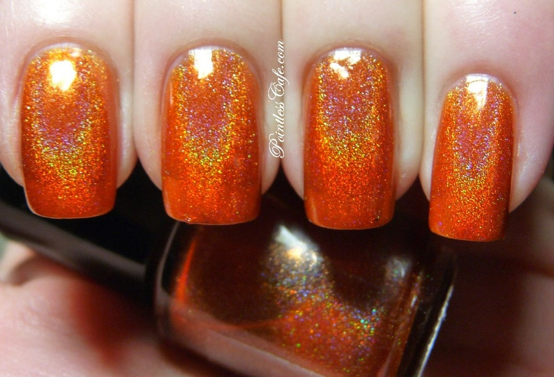 More Like Fire Than Light Full Size Holographic Nail Lacquer : image 0
