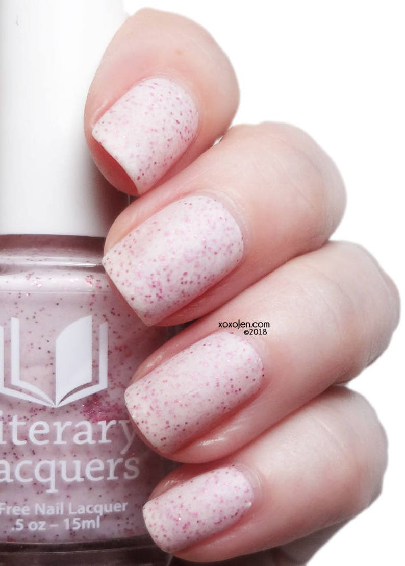 Princess Buttercup  Matte White with Pink Shimmer image 0