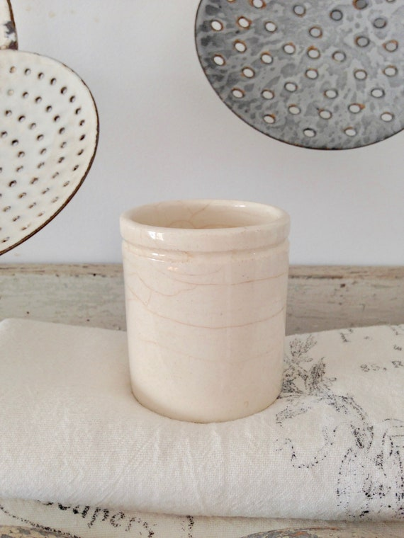 Ironstone Jam pot from My Petite Maison on Etsy.