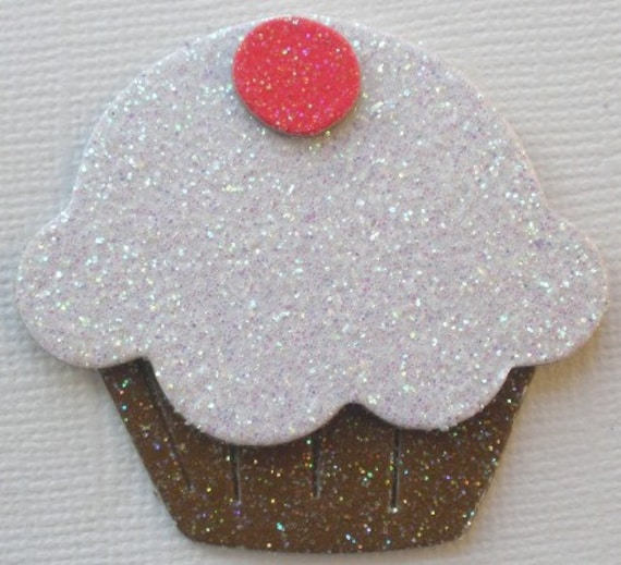 "*MiNi CUPCAKE* 6 2/"" Birthday Cup Cakes Unfinished Chipboard Die Cuts"