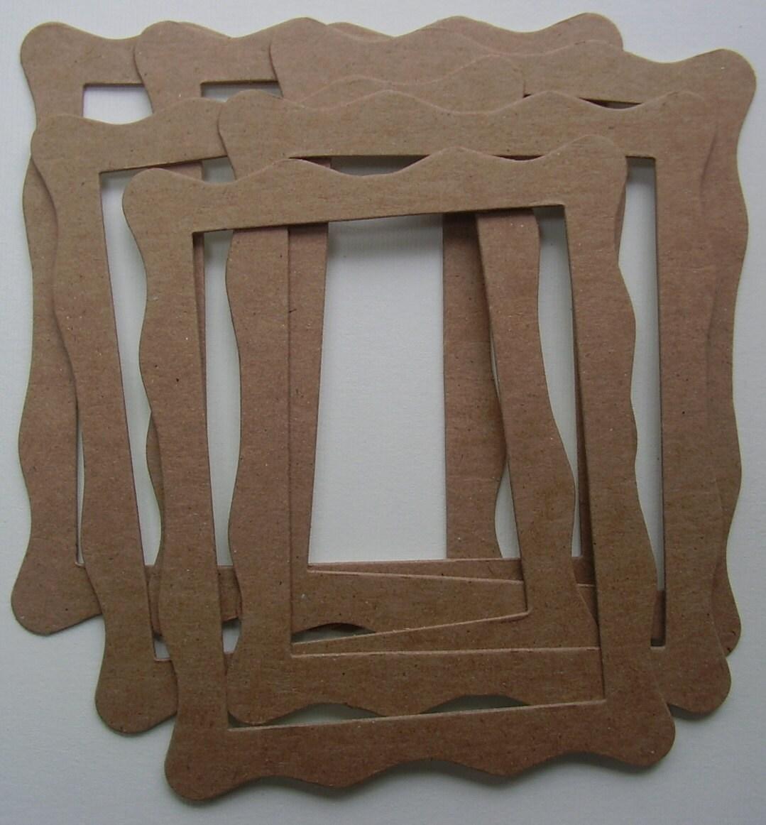 WELLIG Rahmen / Spanplatten Rahmen / nackten sterben schneidet