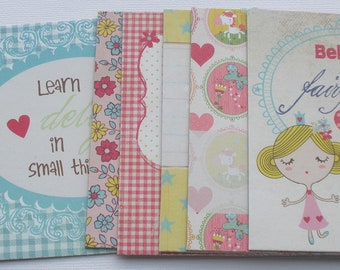 PRINCESS -  Journal Chipboard Kit - Includes Titles - Journal Spots -  Picture Cards - Embellishment Die Cuts