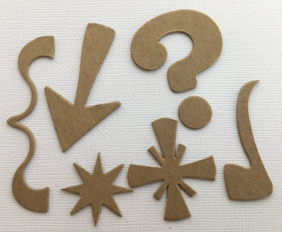 Bare Chipboard Die Cuts Embellishment {4} ORNATE CROSS COMBO