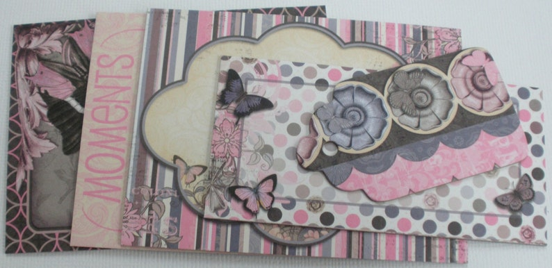 Chipboard Die Cuts Quotes /& Pictures ISABELLA Scrapbook Journaling Note Cards