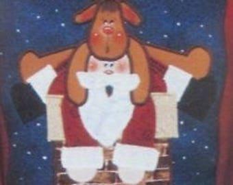 Santa's Helper by Karen's Kraftwear - Applique Pattern
