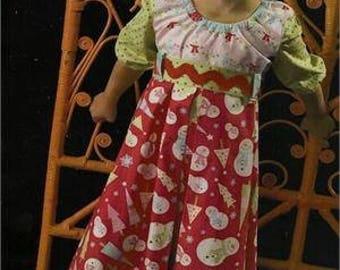 Gracie Lou Dress Pattern by Kati Cupcake Pattern Co.