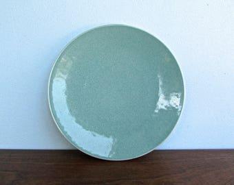 "Massimo Vignelli 7.5"" Vert De Gris Sasaki Colorstone Bread Plates in Unused Vintage Condition, Listing for 1 Plate, 6 Available"
