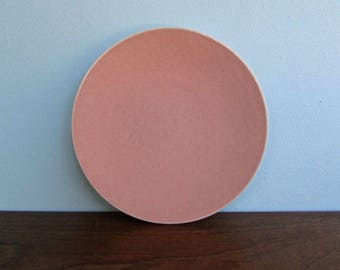 "Massimo Vignelli 10.5"" Coral Dinner Plates Sasaki Colorstone, 5 Plates Available"