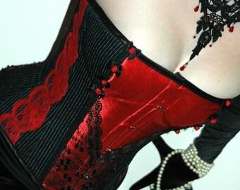 Made to measure 'Alison' steel boned tightlacing corset