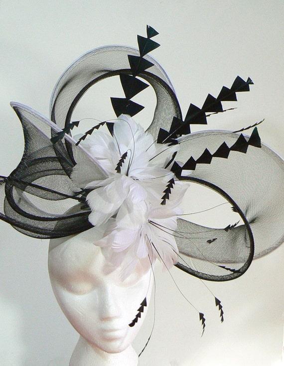 Taza de melbourne de crin espectacular lazo hat sombrero de | Etsy