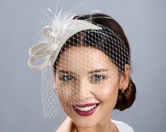 Bridal fascinator  b3085c14811