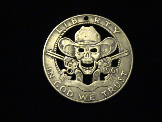 Hobo Nickel Replica - Cowboy Zombie - Brand New!