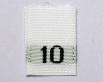 qty 500 Garment Care Labels #3T Machine Wash Warm Tumble Dry Low