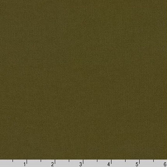 By Yard Arietta Ponte De Roma Solid Knit Robert Kaufman Fabric A165-1263 OLIVE