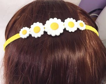 Daisy Hair Band- Free Shipping in the US