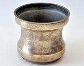 Antique Asian Oriental Silver Wire Inlaid Bronze Censer