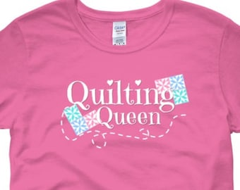 Quilting Queen T-shirt