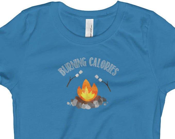 Burning Calories, Marshmallow over Campfire, T-shirt