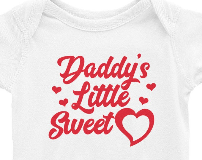 Daddy's Little Sweetheart, Baby Outfit, One Piece Infant Bodysuit