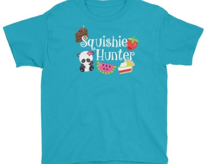 Squishie Hunter t-shirt for kids who love squishies