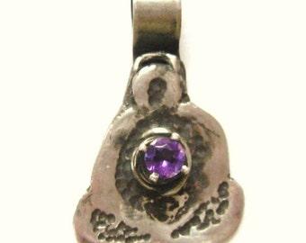 Amethyst Goddess, gemstone jewelry, amethyst pendant, goddess jewelry, mother pendant, spiritual budda pendant