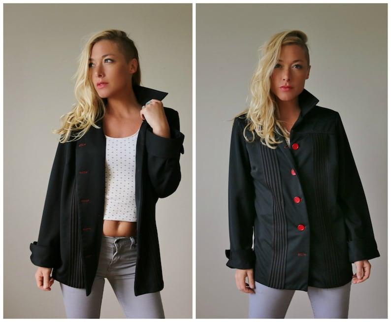 1970s Contrast Stitch Jacket  Size Medium